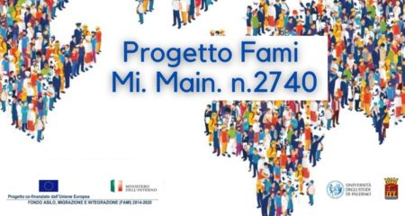 Logo di presentazione al progetto FAMI